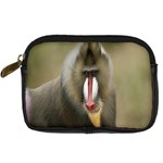 Mandrill Monkey Digital Camera Leather Case