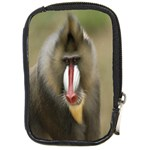 Mandrill Monkey Compact Camera Leather Case