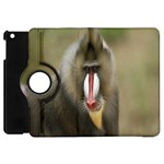 Mandrill Monkey Apple iPad Mini Flip 360 Case
