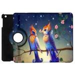 Peaceful And Love Birds Apple iPad Mini Flip 360 Case