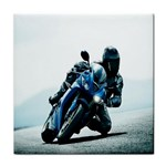 Vehicles Motorcycle Racer Tile Coaster