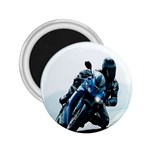 Vehicles Motorcycle Racer 2.25  Magnet