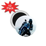 Vehicles Motorcycle Racer 1.75  Magnet (10 pack)