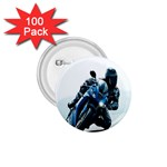 Vehicles Motorcycle Racer 1.75  Button (100 pack)