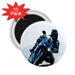 Vehicles Motorcycle Racer 2.25  Magnet (10 pack)