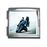 Vehicles Motorcycle Racer Mega Link Italian Charm (18mm)