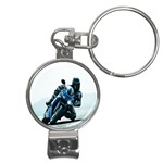 Vehicles Motorcycle Racer Nail Clippers Key Chain