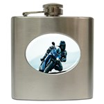 Vehicles Motorcycle Racer Hip Flask (6 oz)
