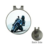 Vehicles Motorcycle Racer Golf Ball Marker Hat Clip