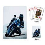 Vehicles Motorcycle Racer Playing Cards Single Design