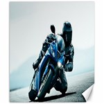 Vehicles Motorcycle Racer Canvas 8  x 10