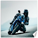 Vehicles Motorcycle Racer Canvas 12  x 12