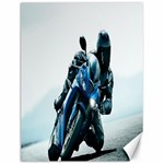 Vehicles Motorcycle Racer Canvas 12  x 16