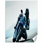 Vehicles Motorcycle Racer Canvas 18  x 24