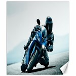 Vehicles Motorcycle Racer Canvas 20  x 24