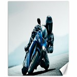Vehicles Motorcycle Racer Canvas 11  x 14
