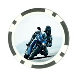 Vehicles Motorcycle Racer Poker Chip Card Guard