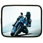 Vehicles Motorcycle Racer Netbook Case (Large)