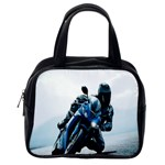 Vehicles Motorcycle Racer Classic Handbag (One Side)
