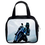 Vehicles Motorcycle Racer Classic Handbag (Two Sides)