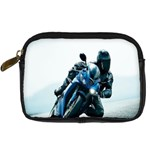 Vehicles Motorcycle Racer Digital Camera Leather Case