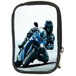 Vehicles Motorcycle Racer Compact Camera Leather Case