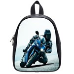 Vehicles Motorcycle Racer School Bag (Small)