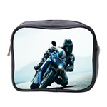 Vehicles Motorcycle Racer Mini Toiletries Bag (Two Sides)
