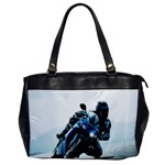Vehicles Motorcycle Racer Oversize Office Handbag (One Side)