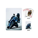 Vehicles Motorcycle Racer Playing Cards (Mini)