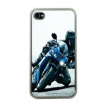 Vehicles Motorcycle Racer Apple iPhone 4 Case (Clear)
