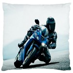 Vehicles Motorcycle Racer Large Cushion Case (One Side)