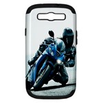Vehicles Motorcycle Racer Samsung Galaxy S III Hardshell Case (PC+Silicone)