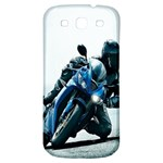 Vehicles Motorcycle Racer Samsung Galaxy S3 S III Classic Hardshell Back Case