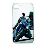 Vehicles Motorcycle Racer Apple iPhone 4/4S Hardshell Case with Stand