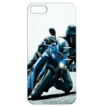 Vehicles Motorcycle Racer Apple iPhone 5 Hardshell Case with Stand