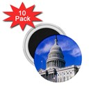 Usa White House 1.75  Magnet (10 pack)