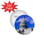 Usa White House 1.75  Button (100 pack)