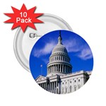 Usa White House 2.25  Button (10 pack)