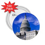 Usa White House 2.25  Button (100 pack)