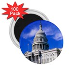 Usa White House 2.25  Magnet (100 pack)