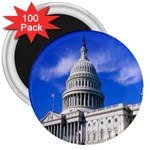 Usa White House 3  Magnet (100 pack)