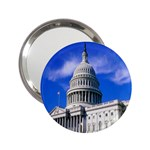 Usa White House 2.25  Handbag Mirror