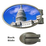 Usa White House Money Clip (Oval)