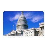 Usa White House Magnet (Rectangular)