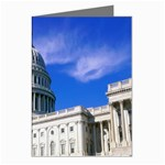 Usa White House Greeting Card