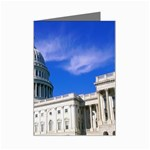 Usa White House Mini Greeting Card
