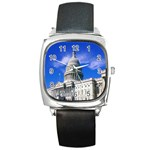 Usa White House Square Metal Watch