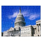 Usa White House Jigsaw Puzzle (Rectangular)