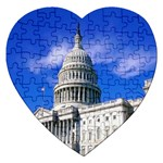 Usa White House Jigsaw Puzzle (Heart)
